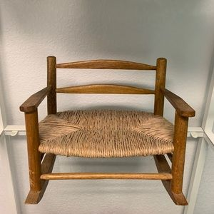 Accents - Doll rocking chair
